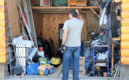 Sie wissen nicht wohin, mit all den Dingen in ihrer Garage?